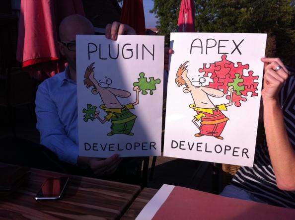 Pictogram Plug-In developer APEX developer