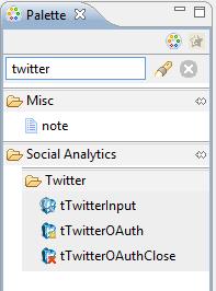 Twitter palette