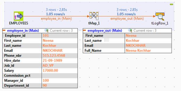 debug run example